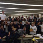 Роланд Франко з колегами відвідали школу Кардинала Йосипа Сліпого, яка знаходиться в Торонто ( Josyf Cardinal Slipyj Catholic School)