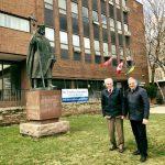 Дирекція Фонду Івана Франка відвідала Інститут Святого Володимира - центр українства у Торонто