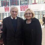 РОЛАНД ФРАНКО в Рідній Школі УНО Торонто Захід разом з пані Ульяною Підзамецькою